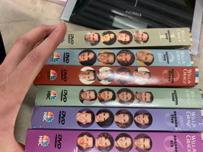 Will and Grace seasons 1-6 box set dvds