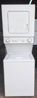 GE Gas Stackable Washer and Dryer