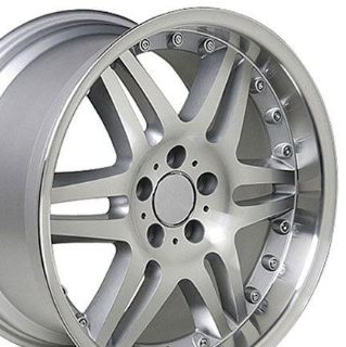 """Buy 18"""" 8.5/9.5 Silver Wheels Set of 4 Rims Fit Mercedes C E S Class SLK CLK 38mm motorcycle in Sarasota, Florida, US, for US $615.00"""