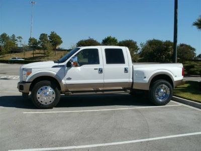 DID YOUR DUALLY TRUCK REAR TIRE BLOW NEED FENDER REPLACE CHEVY FORD DO