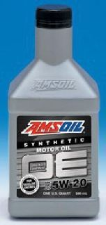 Amsoil Full Synthetic New 5W-20 and 0w-20 Motor Oils