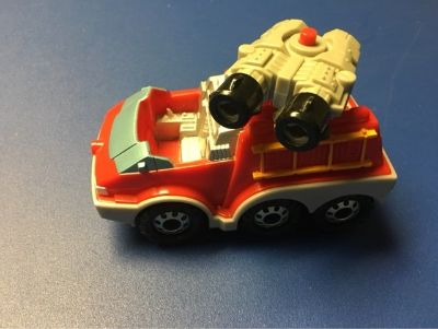Micro Rescue Heroes Fire Truck