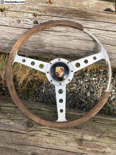 Porsche 356 steering wheel