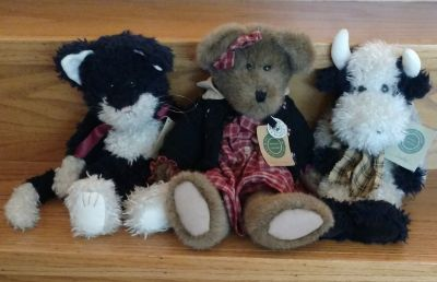 Boyds Bears Retired Jointed Plush