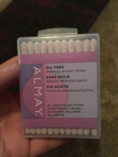 Almay oil feee makeup eraser sticks - ppu (near old chemstrand & 29) or PU @ the Marcus Pointe Thrift Store (on W st)