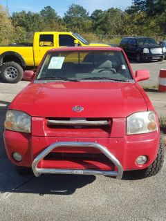 2001 Nissan Frontier SE (Red)