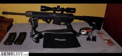For Trade: Sig Sauer 516 Gen 2 piston action 223/5.56