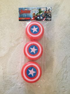 Marvel Captain America Treat Containers ~ NEW!