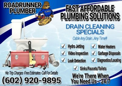 🔧 Fast Affordable Plumbing ►► Drain Cleaning 24/7 Plumber