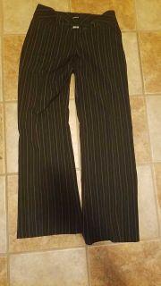Euc black pinstripe pants