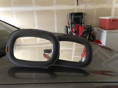 2 baby car mirrors