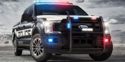 2018 Ford F-150 Police Responder XL (Blue Jeans Metallic)