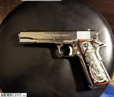 For Sale: 1911 RI nickel 9mm, 38 super