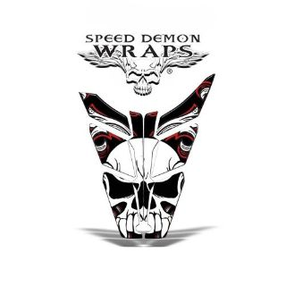 "Sell Polaris Pro RMK ""Skullen"" Sled Graphics Wrap Kit 2011-2015 SDW-1007 SpeedDemon motorcycle in Post Falls, Idaho, United States, for US $239.99"