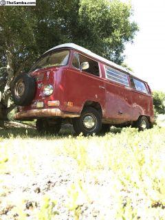 1971 Westfalia poptop Bus