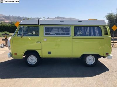"1974 Westfalia ""Westy"" Yosemite Yellow"