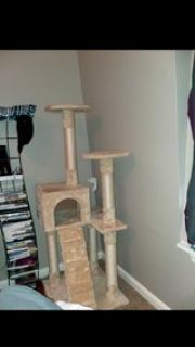 4ft Cat Tree Play Tower