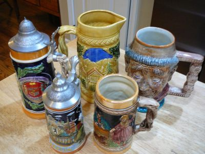 BEER STEIN COLLECTORS make me an offer