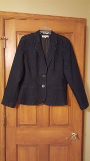 Denim Blazer - Jacket Jones New York Sport Size XL
