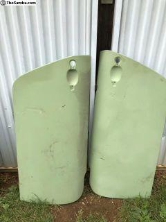 left & right 911 1964-1989 door skin new pair