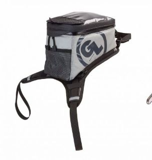 Purchase Giant Loop - KIGER TANK BAG Zipperless nested clamshell lid Black and Gray motorcycle in Bend, Oregon, United States, for US $290.00