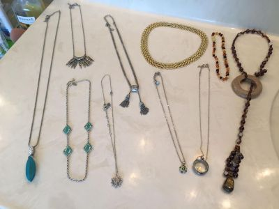 Jewelry 24 pieces- Lia Sophia, Origami Owl, and more!!!