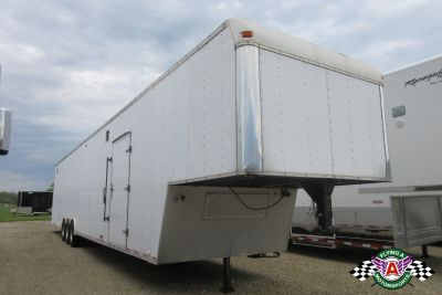 1998 United 50' Gooseneck Stacker Race Trailer