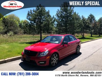 2013 Mercedes-Benz C-Class C300 4MATIC Luxury (Mars Red)