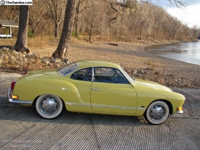 1970 VW Karmann Ghia. 3 Owners, Records since new.