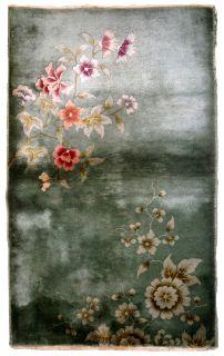 Handmade antique Art Deco Chinese rug, 1B628