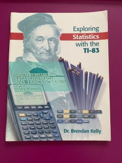 exploring statistics with TI-83 Dr. Brendan Kelly
