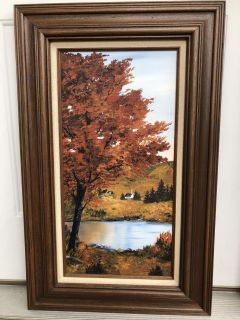 Framed Painting 20x32