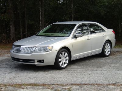 2009 Lincoln MKZ Base (Silver Or Aluminum)