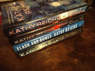 Kathy Reichs Novels Hardcover and in excellent condition.