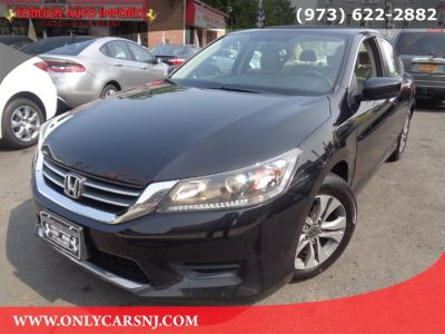 2015 Honda ACCORD SEDAN 4dr I4 CVT LX (Crystal Black Pearl)