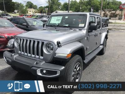 2020 Jeep Gladiator (Billet Silver Metallic Clearcoat)