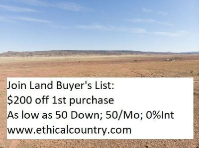 1 Acre in Valencia County, NM Low Down, Low Monthly Payment! 50Down 50/Mo