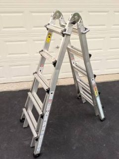 COSCO 21' 300 LBS EXTENSION LADDER