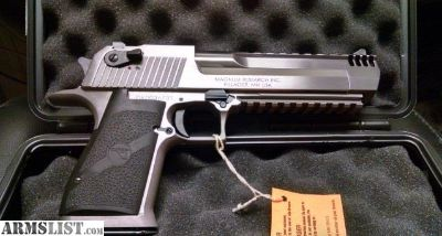 For Sale: Magnum Research DESERT EAGLE 50 AE stainless steel XIX
