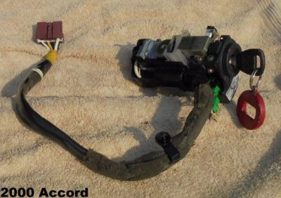 Buy 1998-2002 ACCORD IGNITION LOCK CYLINDER ASSEMBLY WITH WIRING AND KEY USED OEM motorcycle in East Bridgewater, Massachusetts, United States, for US $54.99