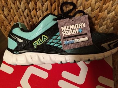 FILA Cool Max Memory Foam+ Sneakers (Brand New in the box)