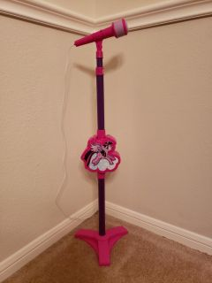 My Little Pony Microphone w/ Stand