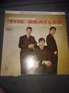 """Vintage Introducing The Beatles Record """"Rare"""""""