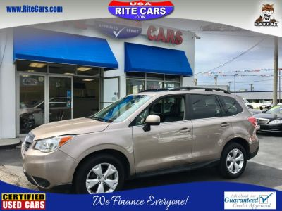 2015 Subaru Forester 2.5i Limited (TAN)