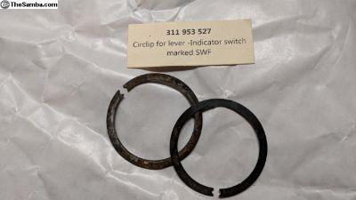 311 953 527, Circlip for turn indicator arm - SWF