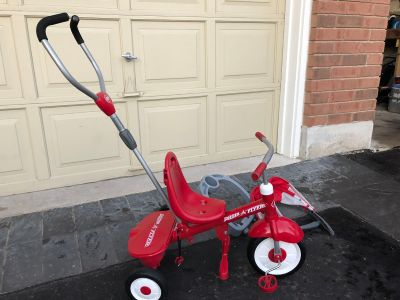 Radio flyer push tricycle