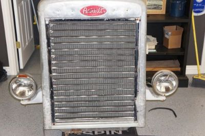 Purchase 1962 Needle Nose Peterbilt Grill W/ Radiator and Headlights motorcycle in Tremonton, Utah, United States
