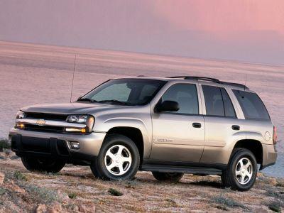 2003 Chevrolet Trailblazer LS (Gray)