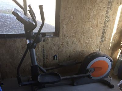 NordicTrack Oliptical home exercise machine