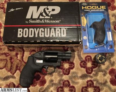 For Sale/Trade: M&P Bodyguard .38 Special with Crimson Trace laser